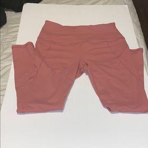 Women's cropped high waist leggings